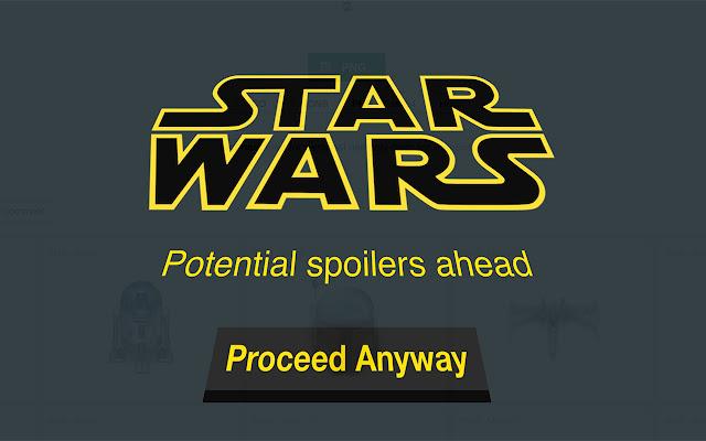 Star Wars Spoiler Blocker