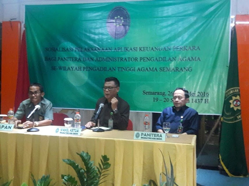 PTA Jawa Tengah Start Lebih Awal  Sosialisasikan Keuangan Perkara