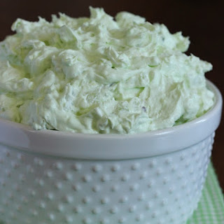 Pistachio & Coconut Cream Marshmallow Salad.
