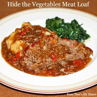 Hide the Vegetables Meat Loaf