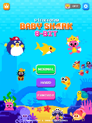 Baby Shark 8BIT : Finding Friends 1.0 screenshots 17