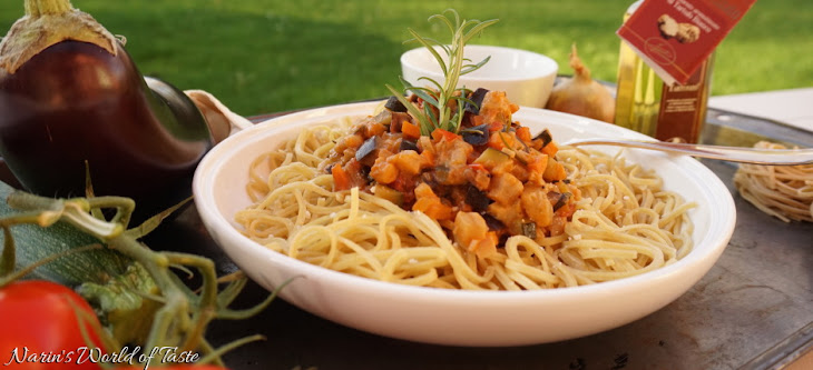 Vegetarian Pasta Sauce with Truffle Oil Recipe