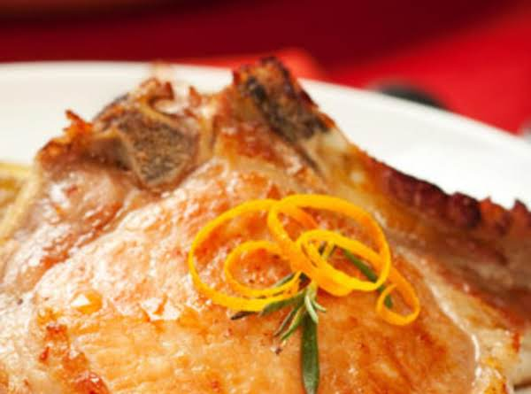 Pork Chops With Lemon Slices Recipe