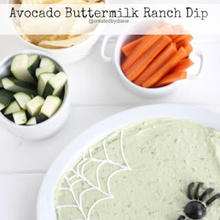 Avocado Buttermilk Ranch Dip