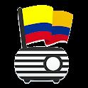 Radio FM Colombia - Emisoras icon