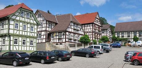 Photo: Ummerstadt - Die zweitkleinste Stadt in Thüringen. Viel Fachwerk.