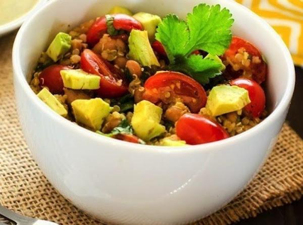 Avocado Quinoa Salad With Chipotle Lime Dressing Recipe