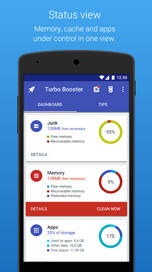 Turbo Booster (Speed up)- screenshot