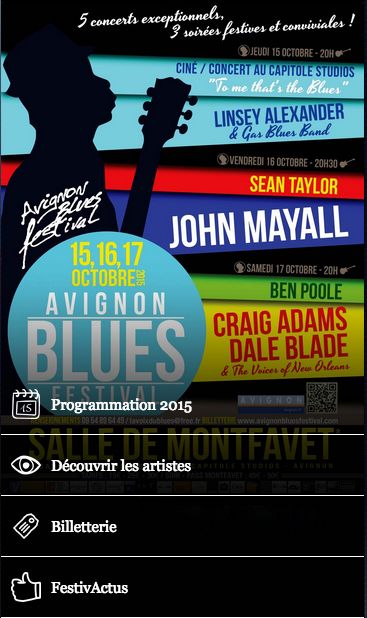 Avignon Blues Festival- screenshot