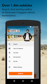 Mobile.de - سوق السيارات APK screenshot thumbnail 1