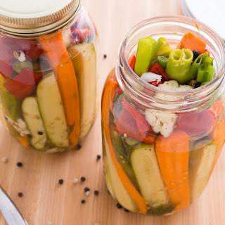Refrigerated Pickled Vegetables