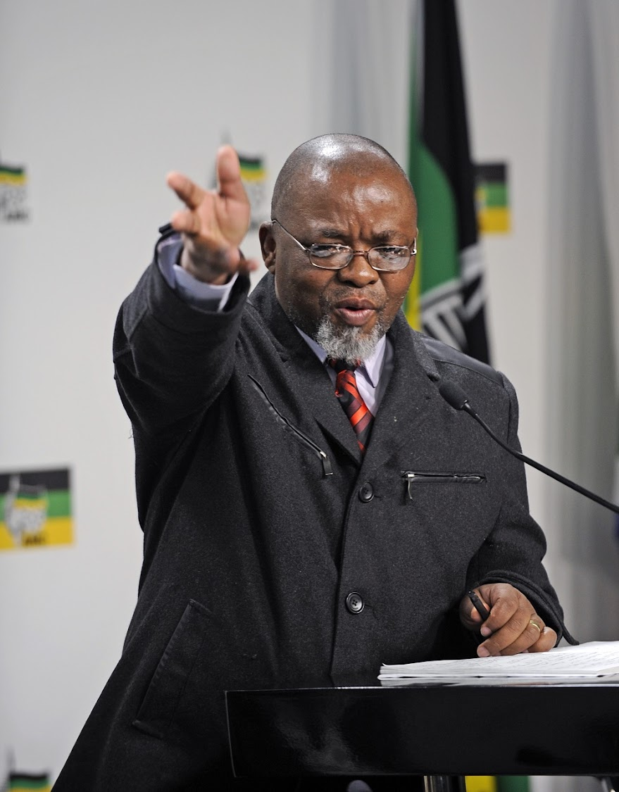Mineral Resources Minister Gwede Mantashe.