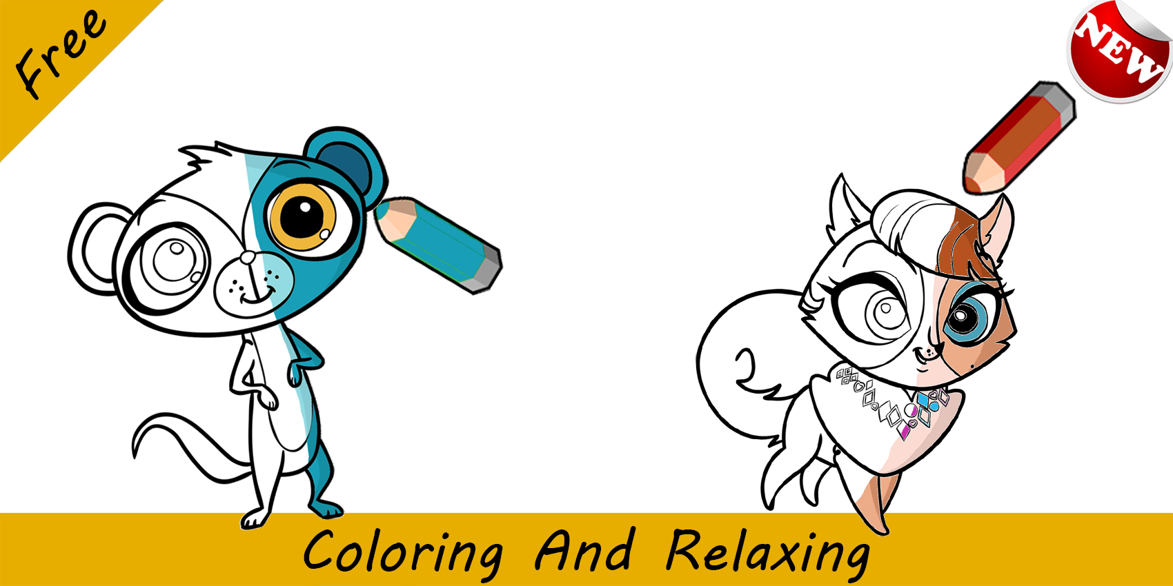 coloring book for lps android apps on google play