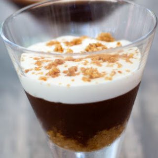 Easy Single Serving Chocolate Amaretti Trifle