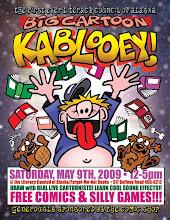 """Photo: """"Big Cartoon Kablooey"""" 2009 poster"""