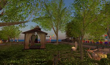 Photo: Cheeky Pea Community Garden, = http://maps.secondlife.com/secondlife/DreamSeeker%20SL9B%20Negen/180/6/21