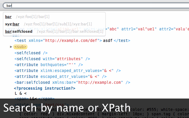 xv xml viewer chrome web store