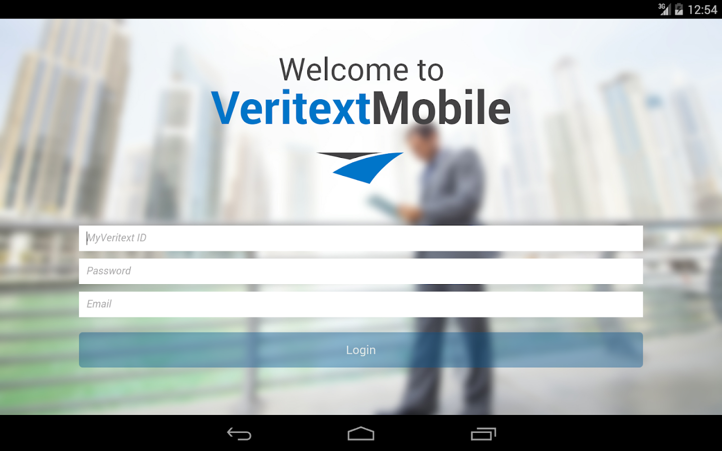 Veritext Anywhere- screenshot