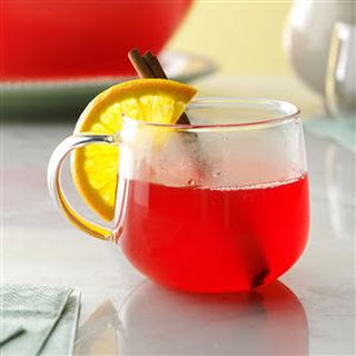 Hot Spiced Cranberry Drink.