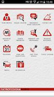 Screenshot of Fiat Professional Mobile