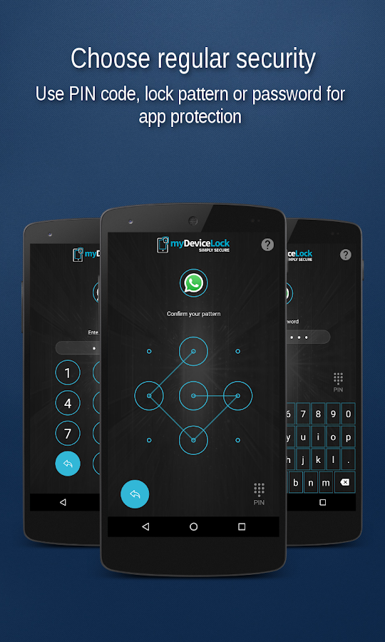 myDeviceLock Biometric AppLock- screenshot