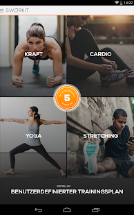 Sworkit Trainer Screenshot