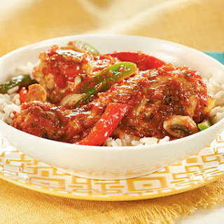 Healthy Chicken Cacciatore Slow Cooker Recipes