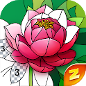 Magic Color by Number: Free Coloring game icon