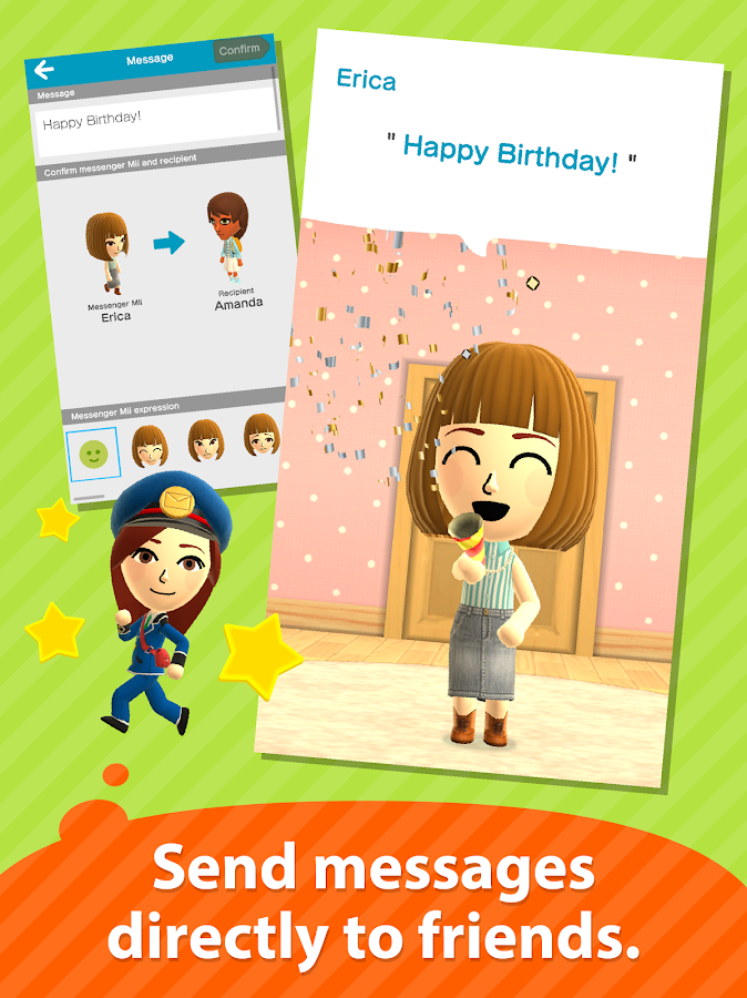 Miitomo- screenshot