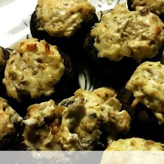 Cream Cheese Stuffed Mushrooms