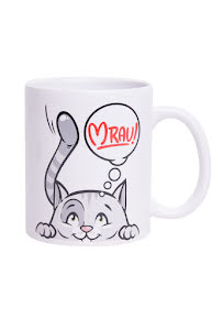 Mugg - Katt Mjau