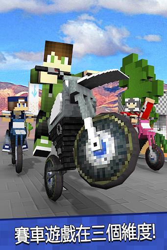 越野摩託 生存模式 - 摩托車 賽車遊戲 對於 我的世界球迷