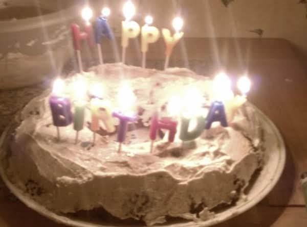 Doggie Peanut Butter Delight Birthday Cake