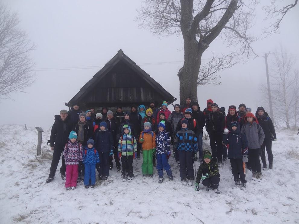Zima na Gibasowym Wierchu