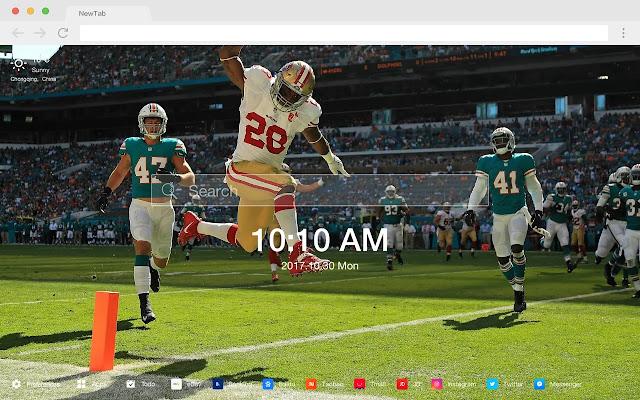 Super Bowl New Tab HD Football  Theme