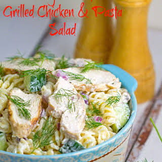 Dilly Ranch Grilled Chicken & Pasta Salad.