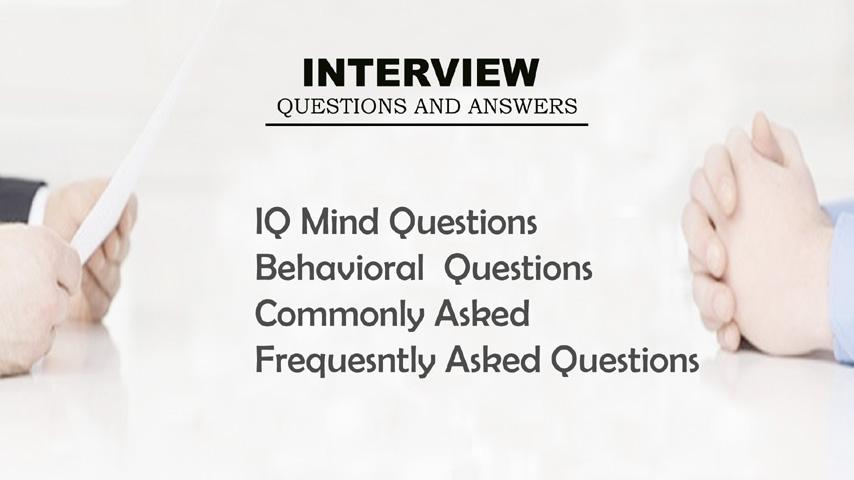 Interview Questions Answers- screenshot