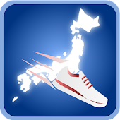 walk place of Japan(Pedometer)