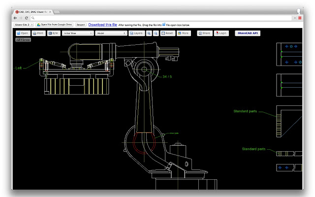 Cad Dxf Dwg Viewer For Drive