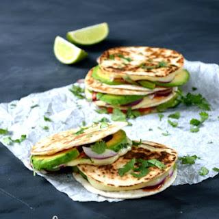 Melting Mexican Mini-Quesadillas.