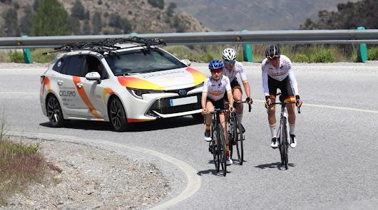 Toyota España proveedor oficial del Campeonato de España de Ciclismo