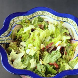 Wilted Lettuce Salad #SundaySupper