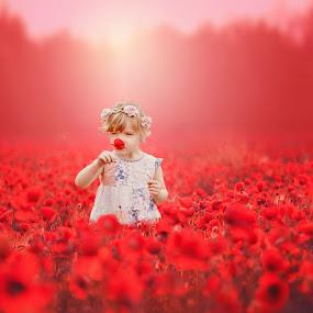 Poppy Bliss by Love Time - Digital Art People