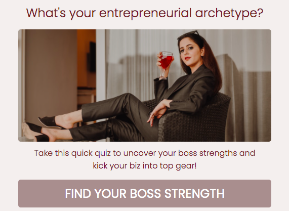 What's your entrepreneurial archetype quiz cover