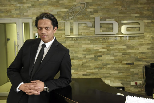 Irba CEO Bernard Agulhas. Picture: FINANCIAL MAIL