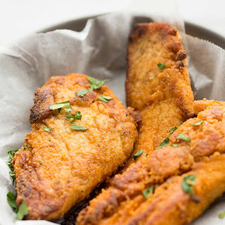 The Best Oven-Fried Chicken.
