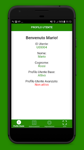 StrongAuth Mobile screenshot 2