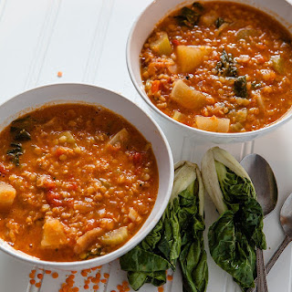 Red Lentil and Turnip Soup