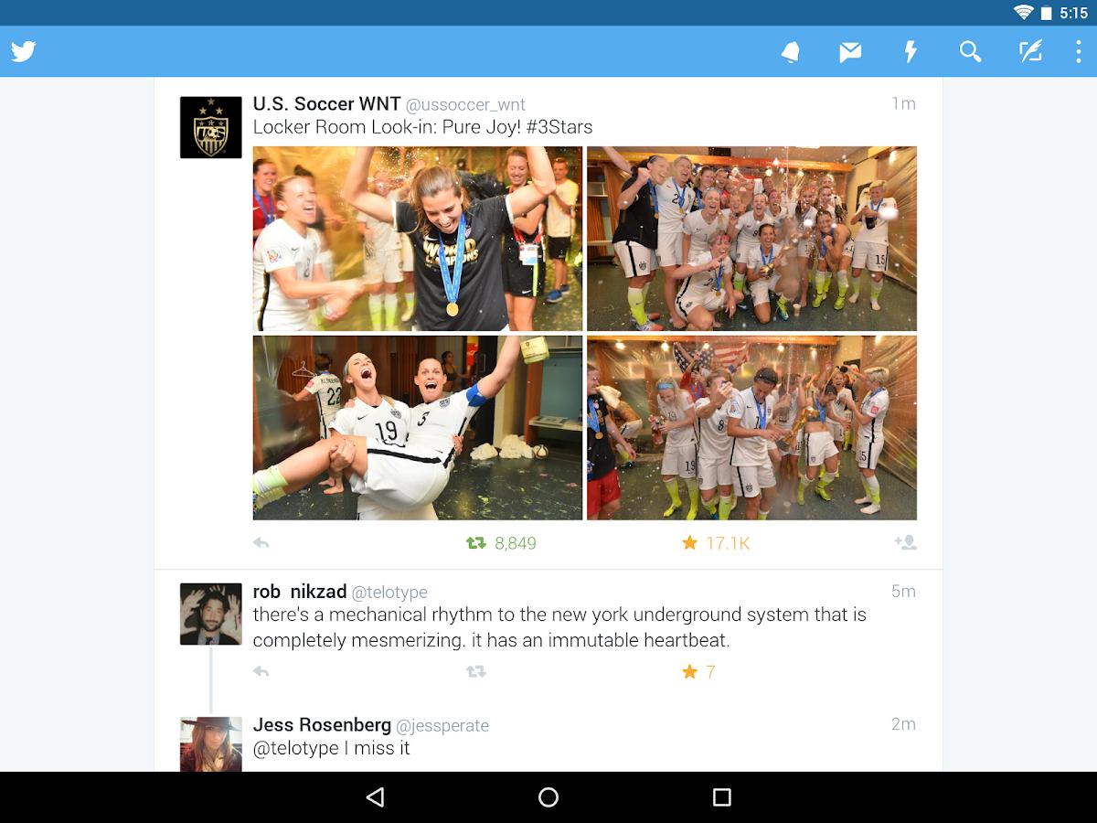 Twitter– Capture d'écran