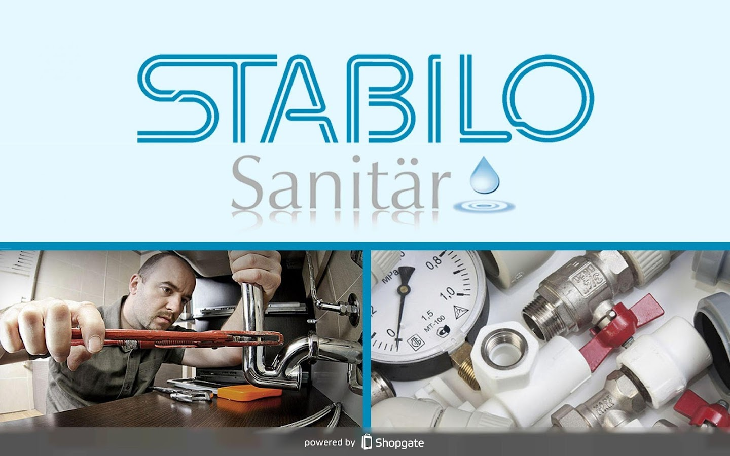 Stabilo-Sanitaer – Screenshot